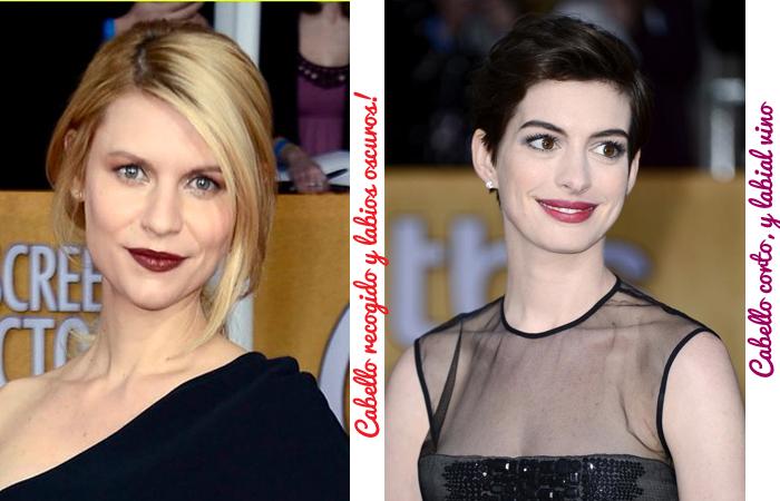 beauty trends sag awards 2013