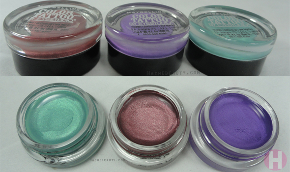 color tattoo Maybelline NY2