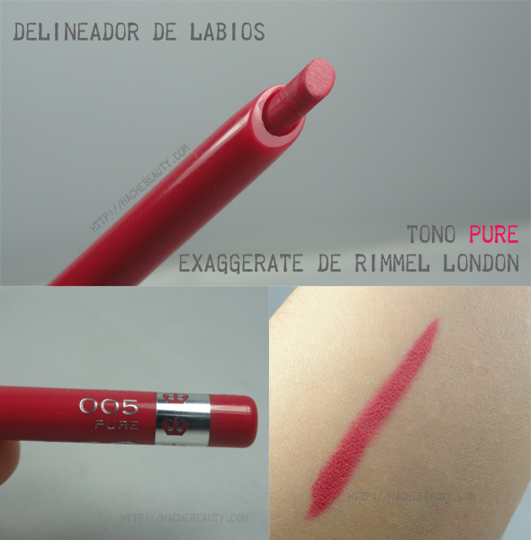 exaggerate rimmel london 1