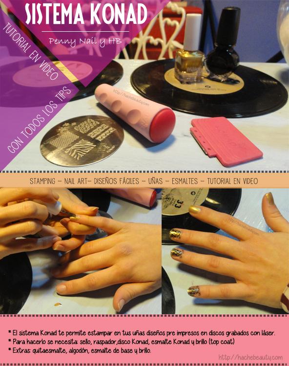konad argentina stamping nail art uñas 1