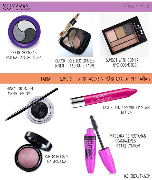 tutorial de maquillaje negro esfumado alternativas