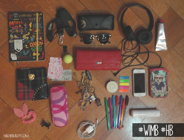 whats in my bag wimb hache beauty 2