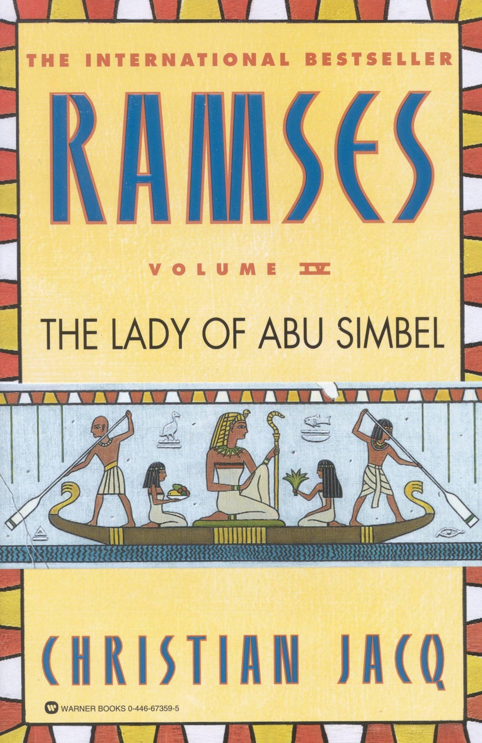 Ramses The Lady Of Abu Simbel  Volume Iv By Christian