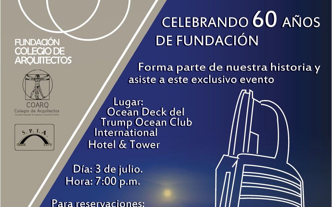 Hacheuve en Celebración de 60 años de COARQ y SPIA
