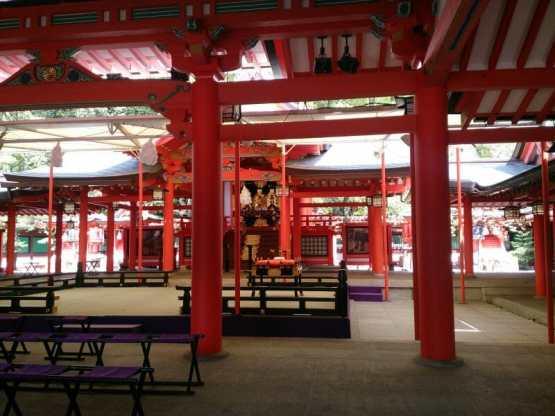 生田神社のご本殿