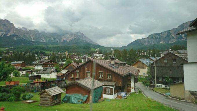 世界遺産のドロミテ山脈