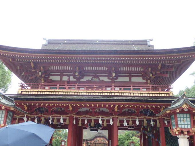 太宰府天満宮の桜門