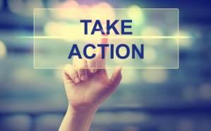 take action行動
