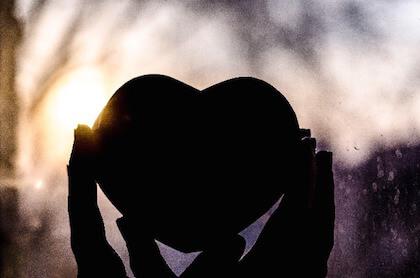 愛の象徴ハート