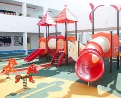 入園予定の幼稚園の遊具