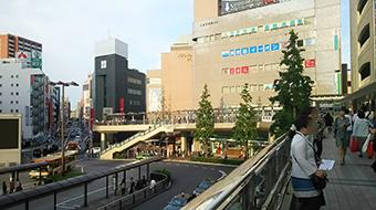 八王子駅からのアクセス1