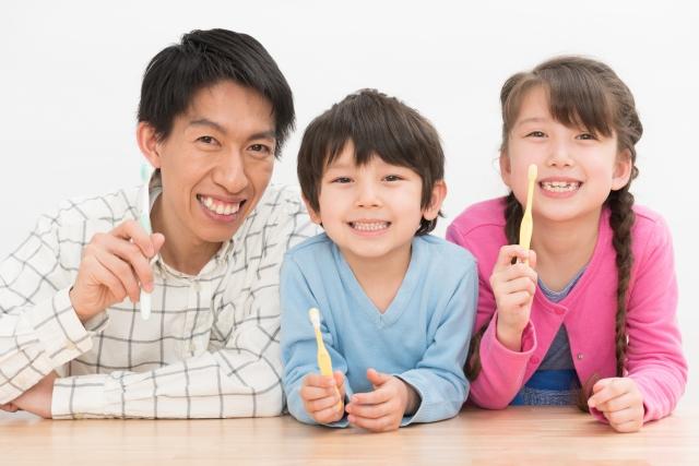 家族で歯周病予防