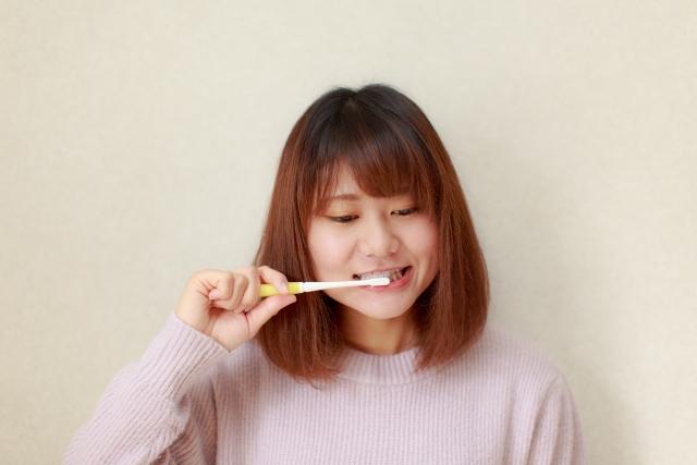 生理中の歯みがきは丁寧に
