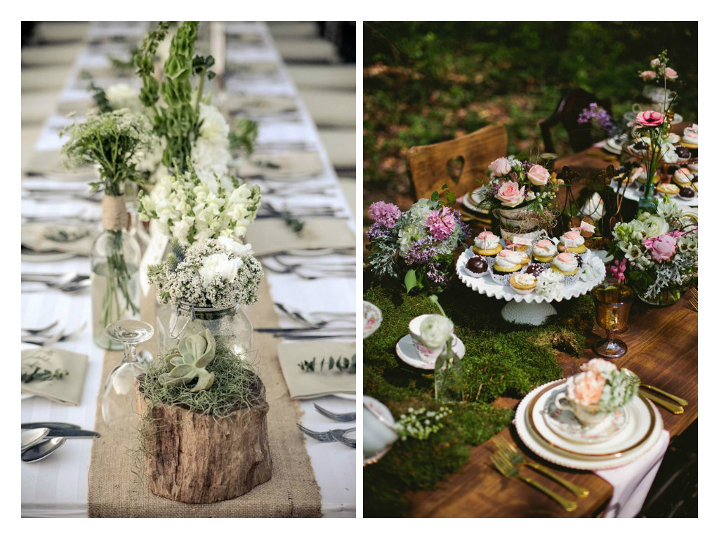 10 ideas de decoraci n para bodas tendencias 2017 for Ambientacion para bodas
