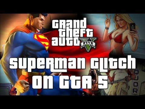 Grand Theft Auto V Superman Cheat Code SKYFALL Tutorial