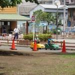 無料でバッテリーカーに乗れる南平児童交通公園(埼玉県川口市)