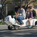 変わり種自転車に乗り放題。埼玉県川口市『芝児童交通公園』