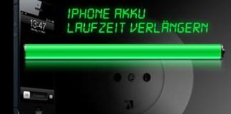 Tipps um die Akkulaufzeit eures iPhones/iPod touch/iPad zu verlängern - Hack4Life