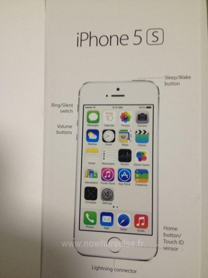 Fingerabdrucksensor - bestätig - Apple Keynote - iPhone 5S - Hack4Life - Zusammenfassung