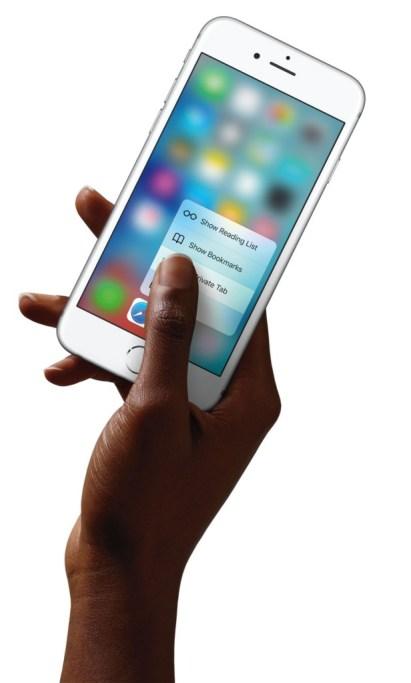 3D Touch, Hack4Life, Fabian Geissler, iPhone 6s