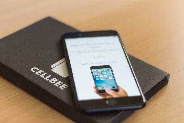 CellBee auf dem iPhone 7 Plus!