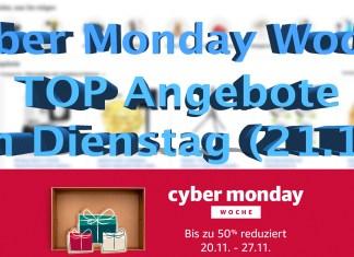 Cyber Monday Woche: Top Angebote am Dienstag, Hack4Life, Fabian Geissler, Amazon, 2017