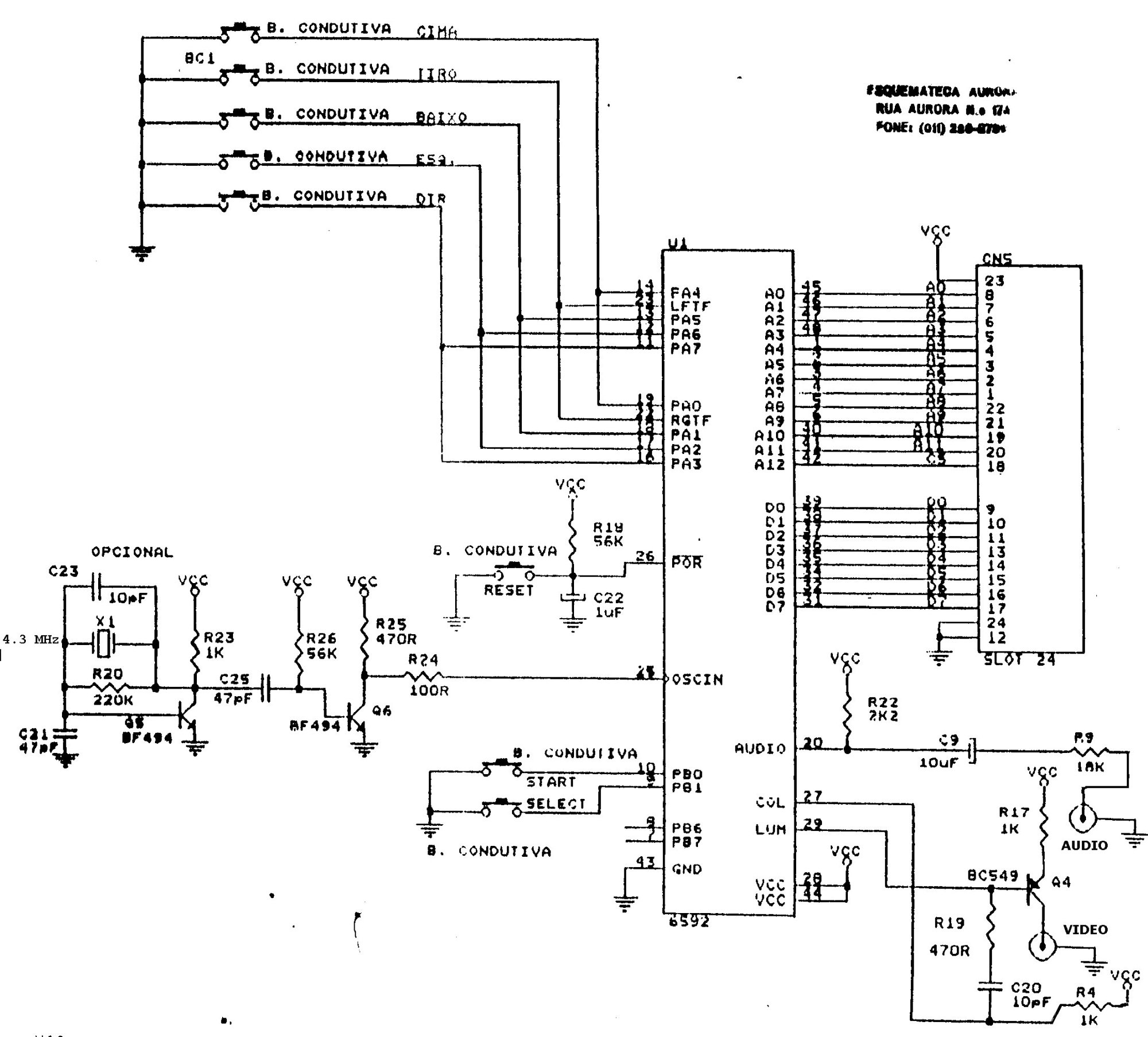 hight resolution of  schematic he reverse engineered and this thing is tiny it s much smaller than even the smallest ben heck 2600 console build
