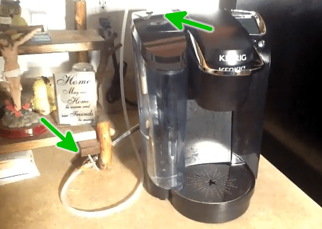 Keurig Hack Runs A Water Supply Line To Your Coffee Maker ...