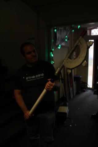 The 50kg axe of doom!