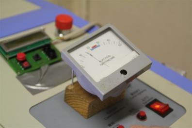 Ammeter for the laser