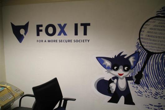 They also have a computer lab sponsored by FOX IT