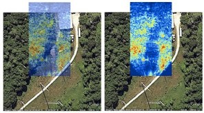 SAR imagery of outdoor terrain using the MIT coffee can radar