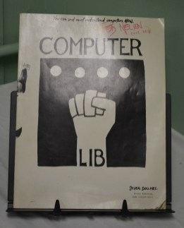 Computer Lib, signed by Ted Nelson