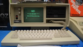 Franklin CX, the luggable Apple II clone. Only about 30 exist.
