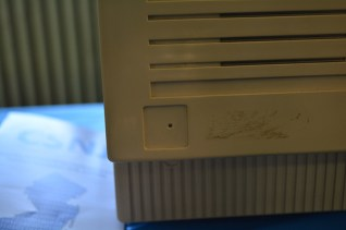 The only prototype Mac SE with a non-clear case.