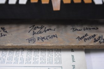 PDP-8 signed by Ted Nelson