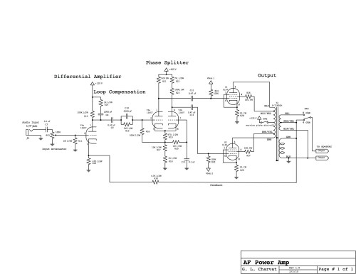 small resolution of power amp schematic