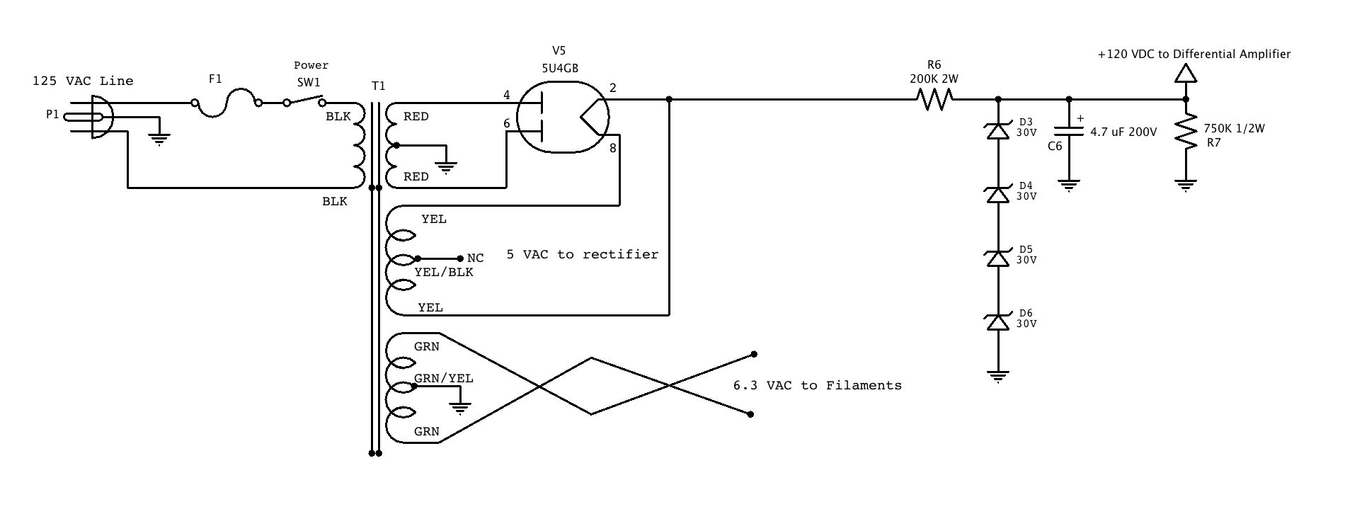 hight resolution of wiring diagram for rectifier tube wiring diagram structure wiring diagram for rectifier tube