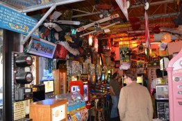 There is a decent selection of pinball