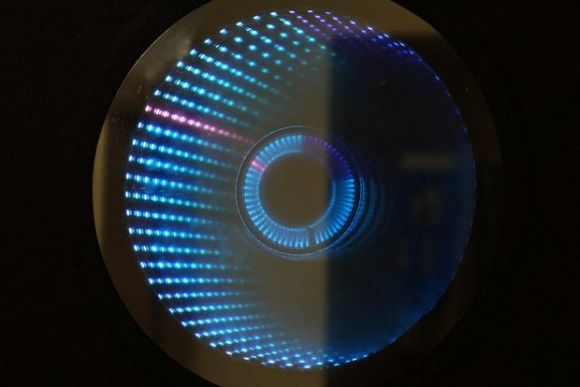 infinity mirror clock there
