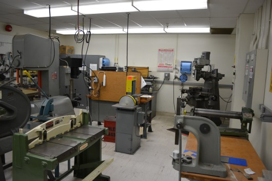 Another view of the machine shop