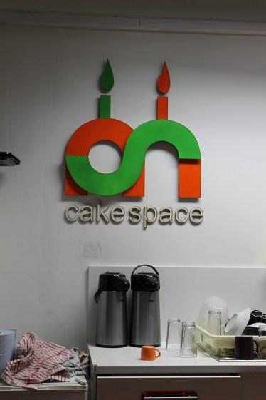 Cake Space (AKA the kitchen)