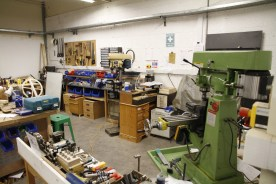 Wood & metal workshop