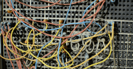 Building a computer with wires
