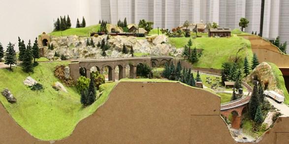 Train layout 2