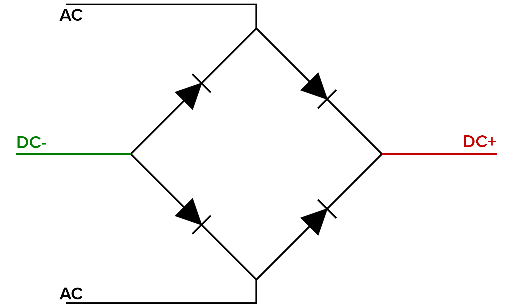 hight resolution of bridge rectifier shunt before to the left is a schematic