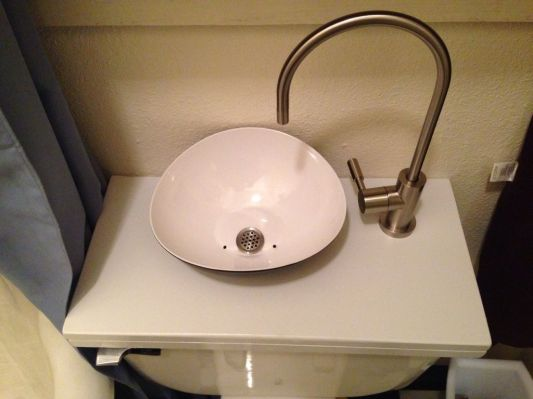 sink toilet examples