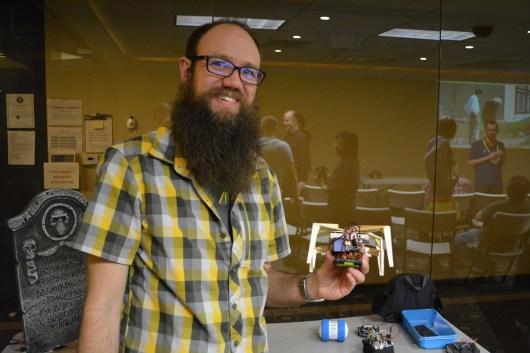 [Nathan Bryant] and robot
