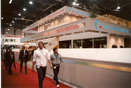 Commodore 1985 CES Booth