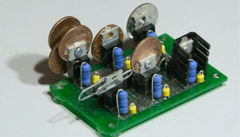Penny And Paper Clip Heat Sinks Hackaday